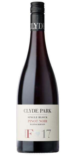 2017 Clyde Park Block F Pinot Noir