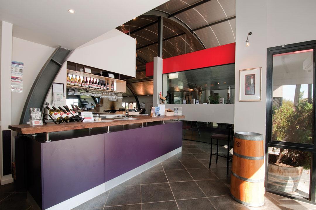 Galli Estate cellar door in Plumpton near Melbourne