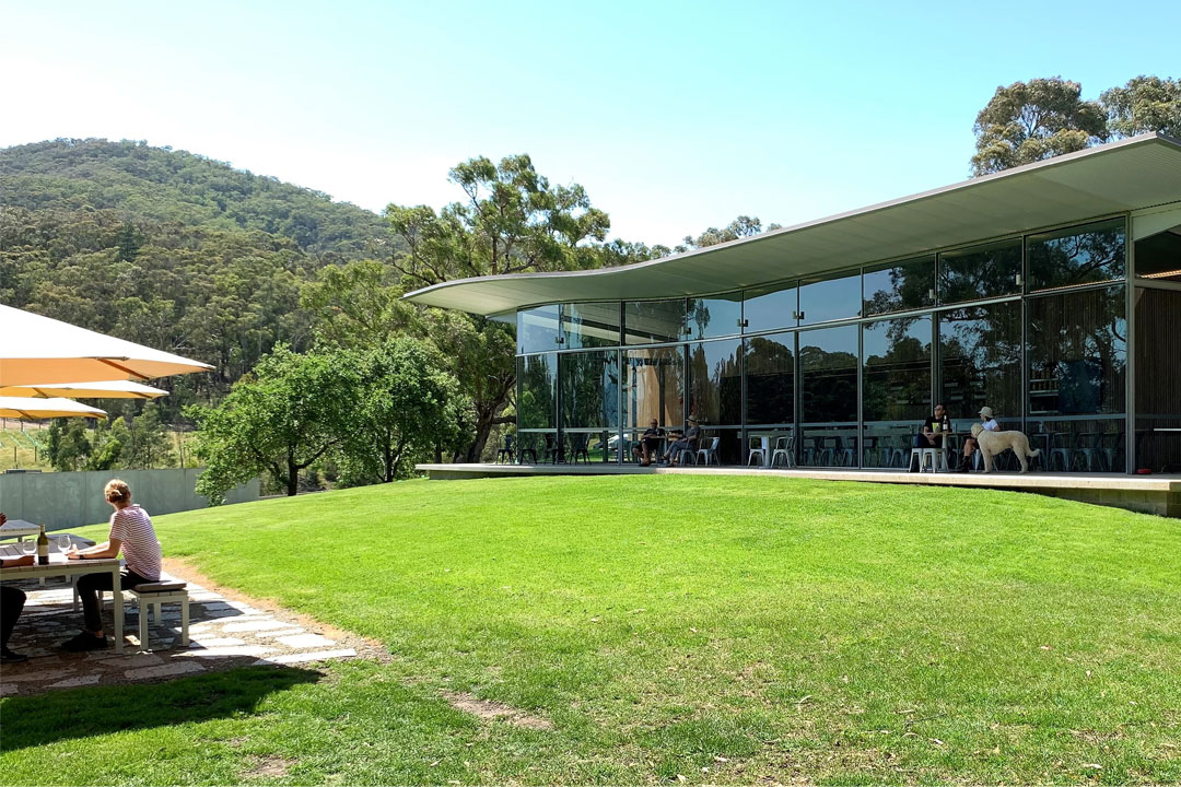 Medhurst Wines architectural cellar door