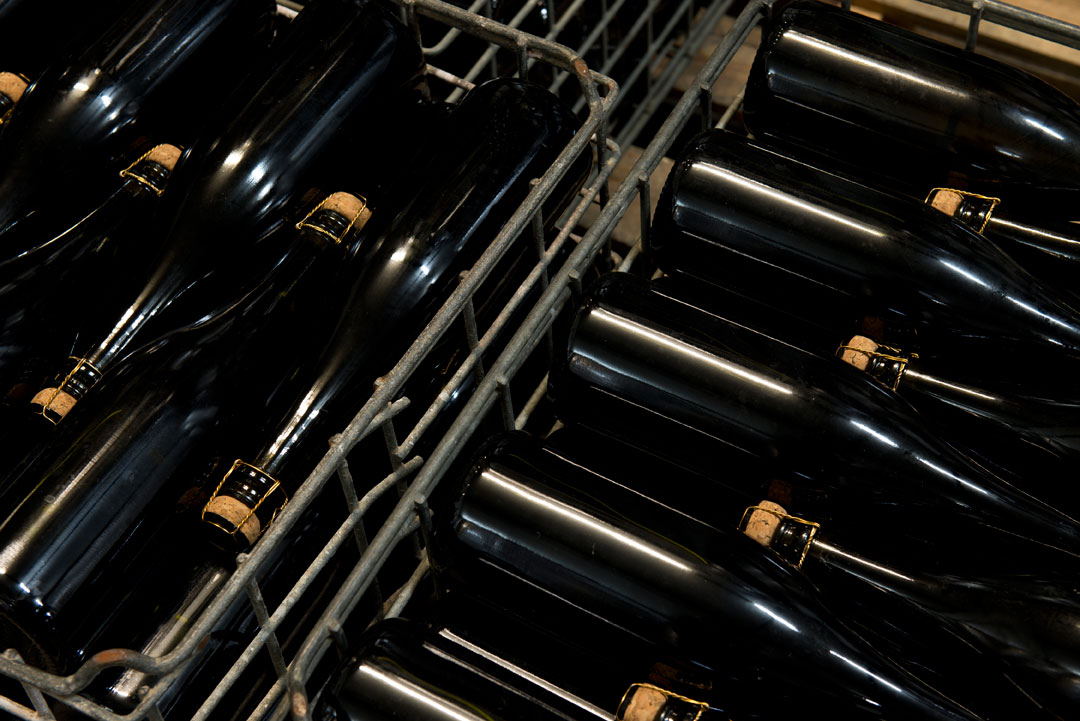 Anderson Wineries bottles to be labelled