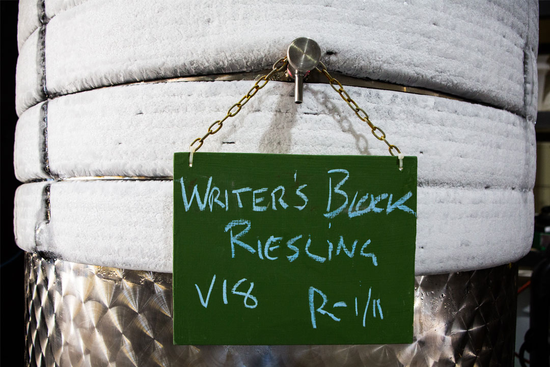 A.T. Richardson Wines Writers Block Riesling
