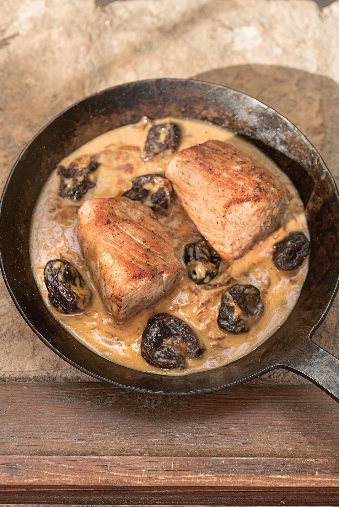 Pork Loin with Figs recipe Barcelona Cult Recipes by Stephen Mitsch