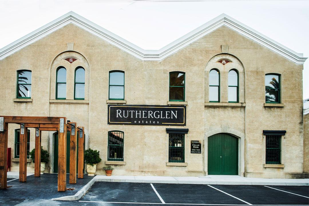 Rutherglen Estates main historic building