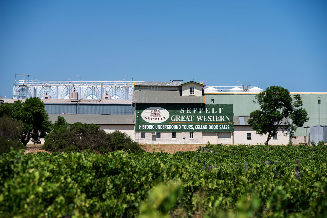 Seppelt Great Western vineyard and winery