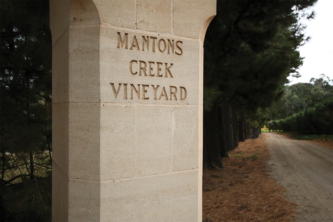 Mantons Creek Estate Mornington Peninsula vineyard farm animal goat