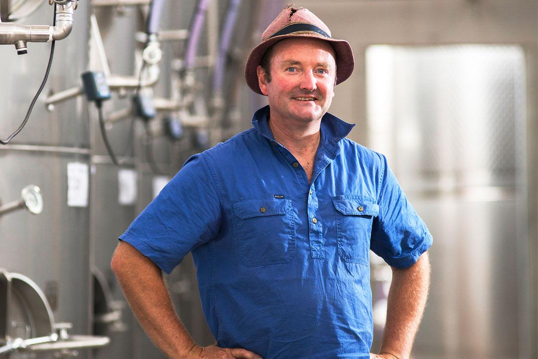 Owner and winemaker, Sam Plunkett