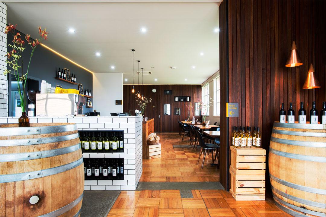 Wine by Sam cellar door in Seymour