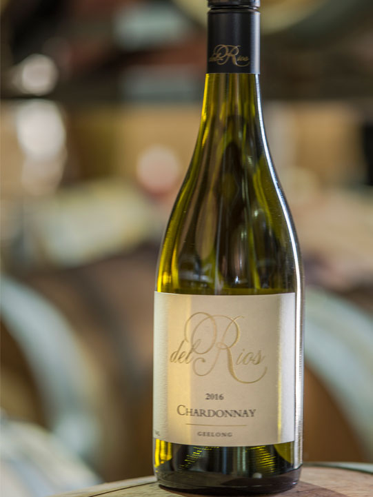 del Rios of Mt Anakie 2016 chardonnay